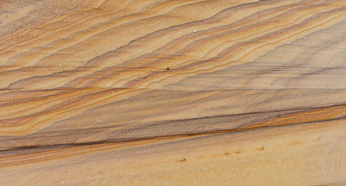 Rainbow sand stone